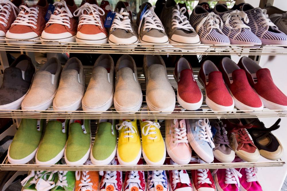 Mercato delle scarpe in Cina