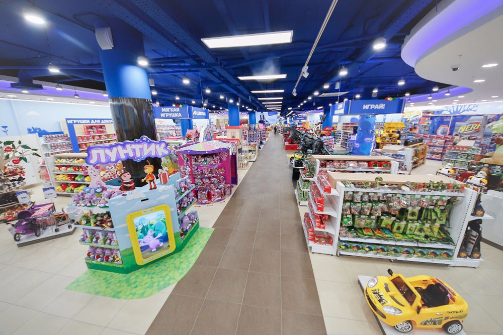 Detsky Mir Group opened new stores in Moscow and the Irkutsk Region