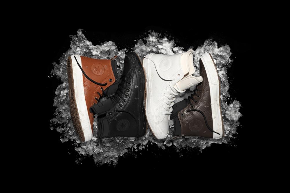 Converse began shipping the winter model Chuck II