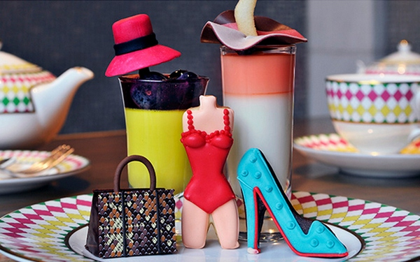 Jimmy Choo treats with sweet shoes