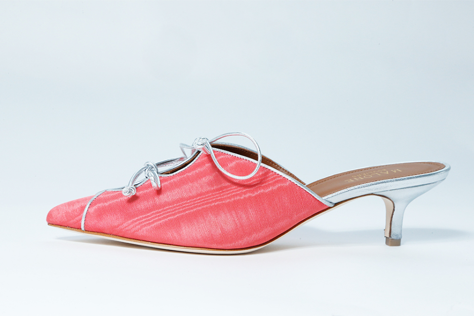 Malone Souliers was not afraid of color in the 2018 spa collection
