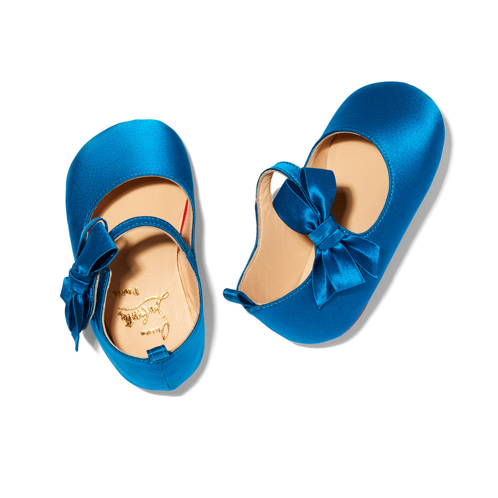 Christian Louboutin first released shoes for children