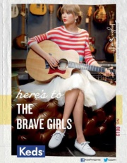 Keds released a second capsule with Taylor Swift