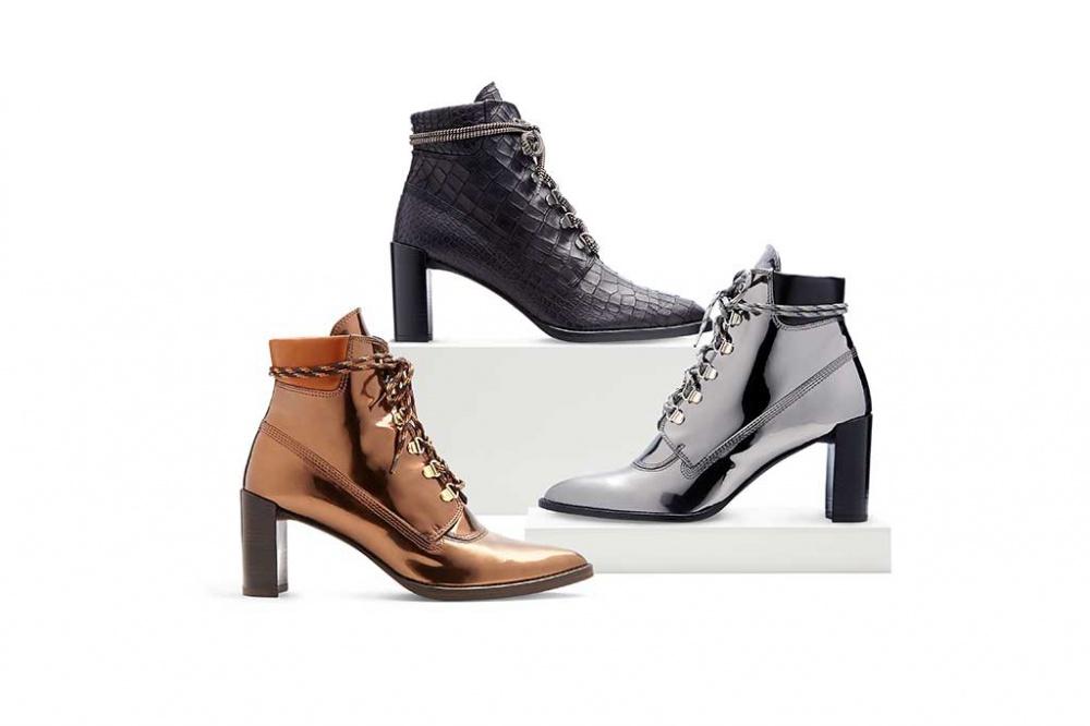 JJ Hadid has developed a shoe model for Stuart Weitzman