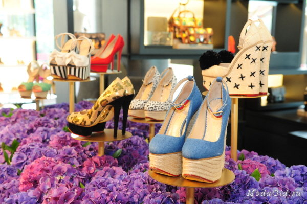 Charlotte Olympia boutique opened in Moscow
