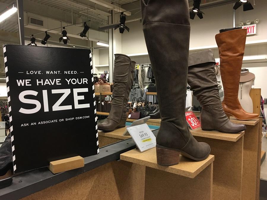 Die Feinheiten des Überseeverkaufs. Wie man Schuhgeschäfte in New York während der Zeit großer Rabatte entwirft und in Zonen aufteilt.