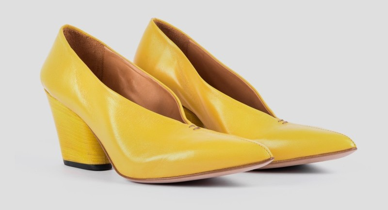 """""""We came to Russia during the crisis, but the consumer appreciated our product,"""" says Lucman Petrelli, owner of the Halmanera shoe brand."""