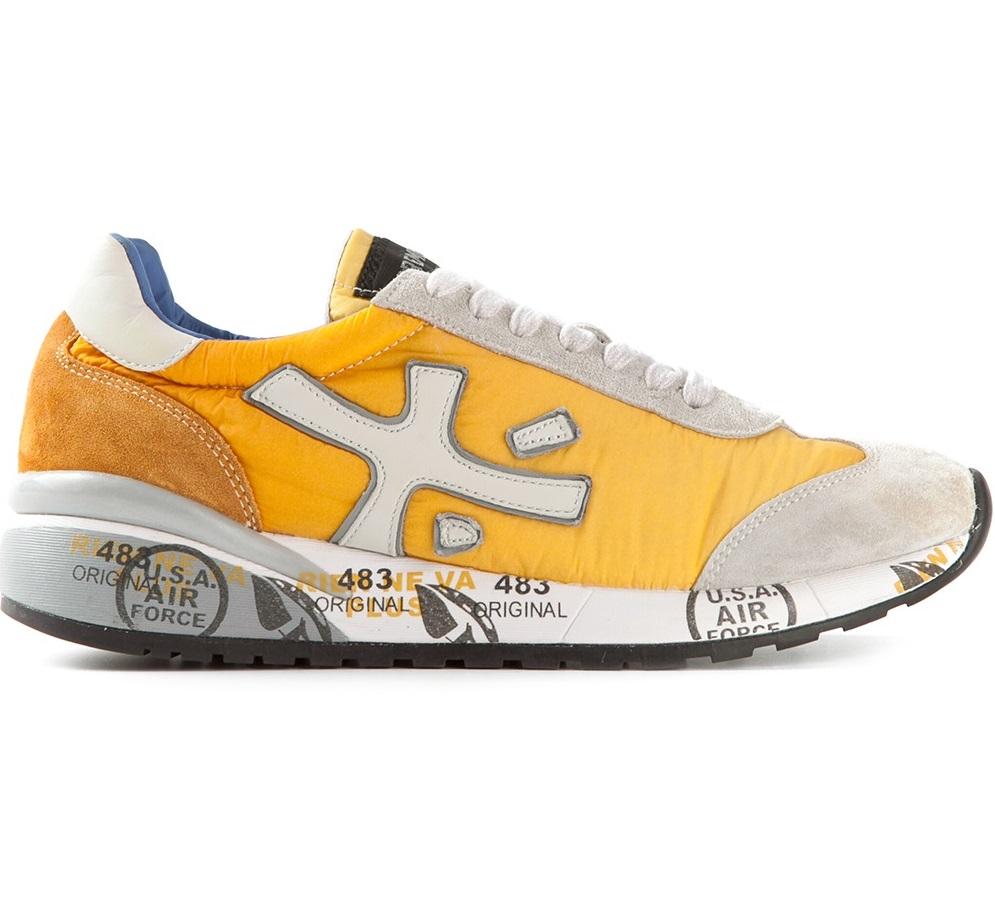Premium brand Premiata presented a sports shoe collection