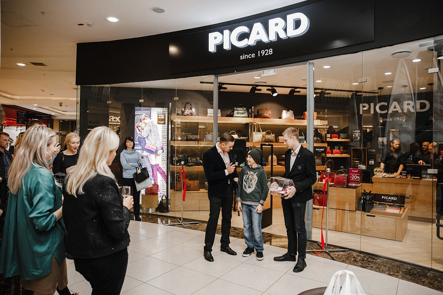 Picard bags and accessories brand store opened in Moscow