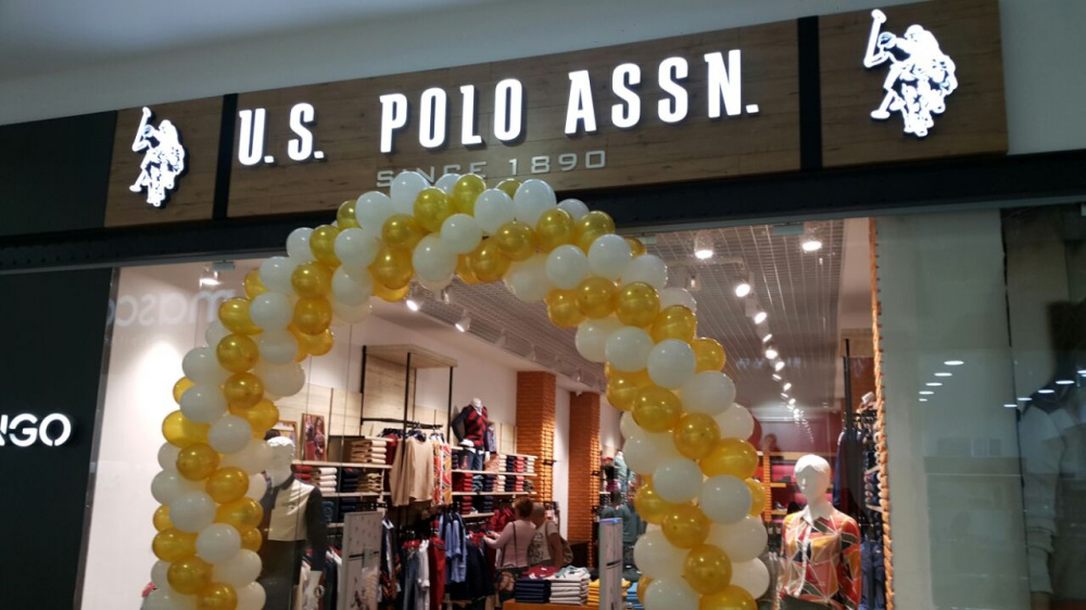 Online US Polo Assn. Three new stores appeared in Russia