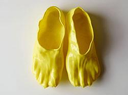 Japanese designer created fondue shoes