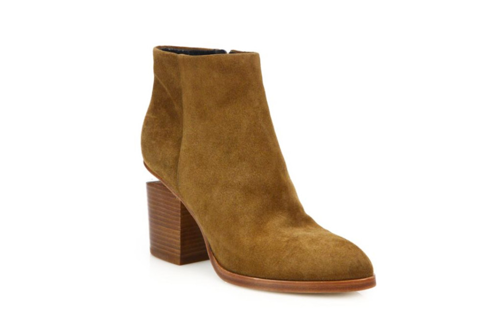 Suede Alexander Wang Ankle Boots