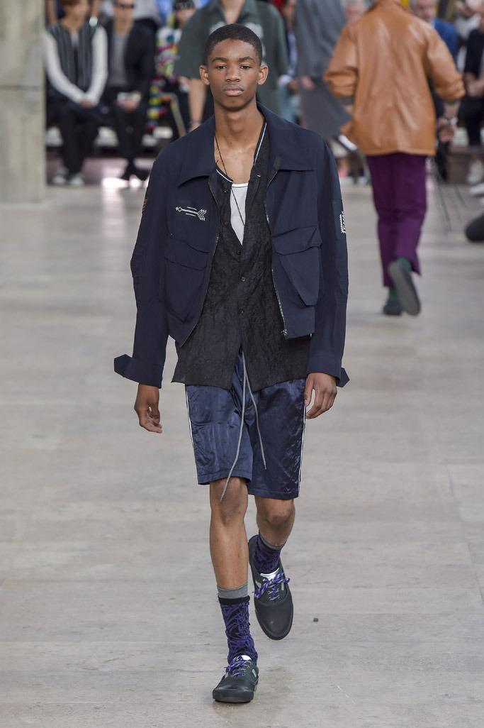 Lanvin Herren Frühjahr-2017-Kollektion, Show auf der Paris Fashion Week