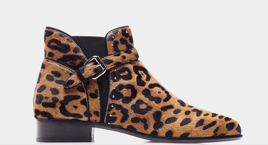 Deer Hide Ankle Boots
