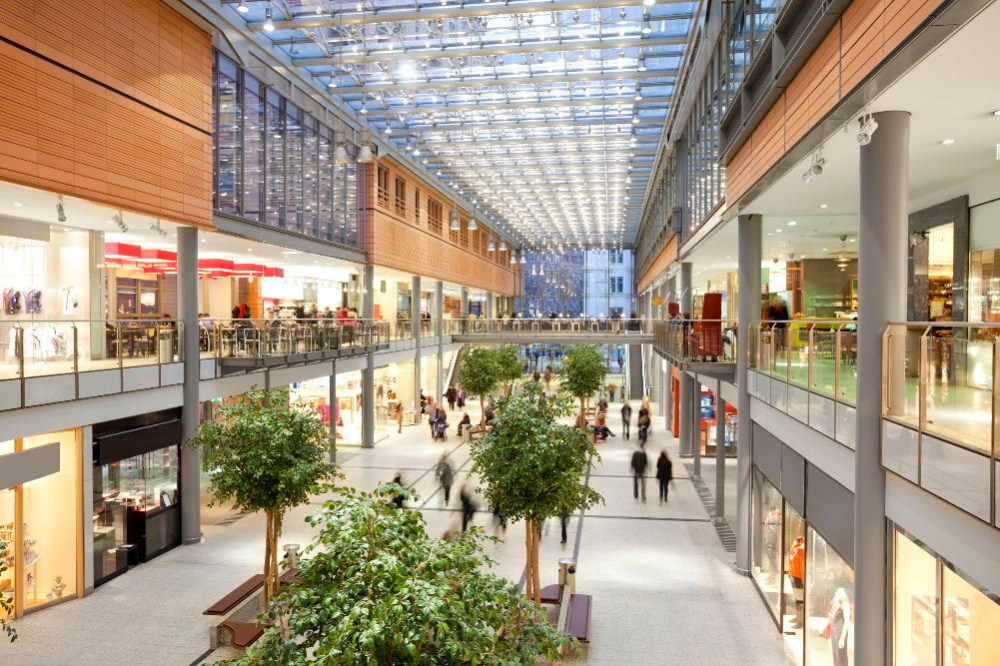 Centro comercial exitoso: conceptos y acentos
