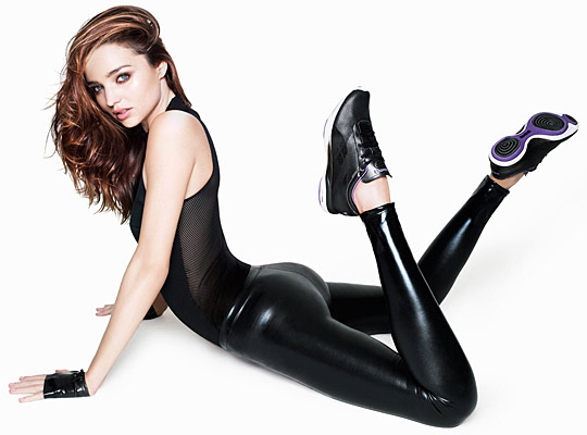 Miranda Kerr continued her collaboration with Reebok