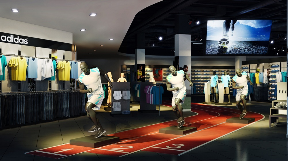 Adidas will turn stores into stadiums