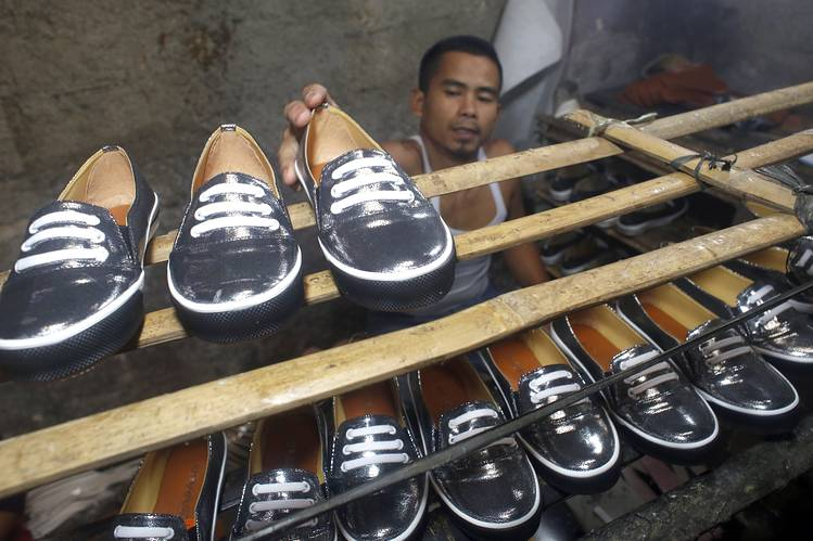 The fourth largest shoe producer in the world is Indonesia.