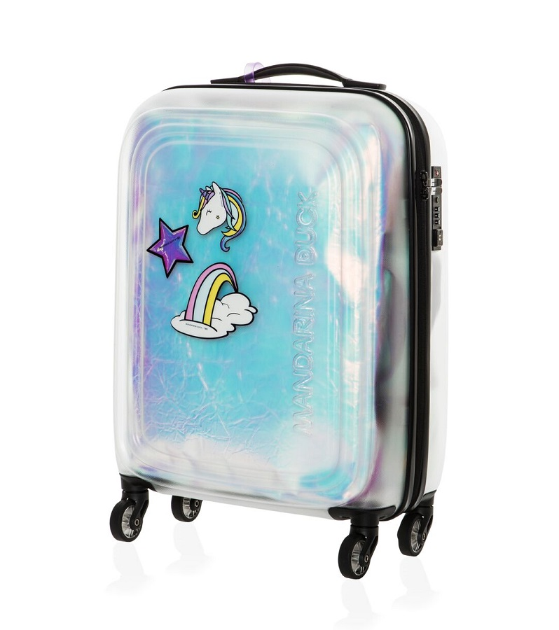 Mandarina Duck Launches Suitcase Series in Collaboration with The Blonde Salad