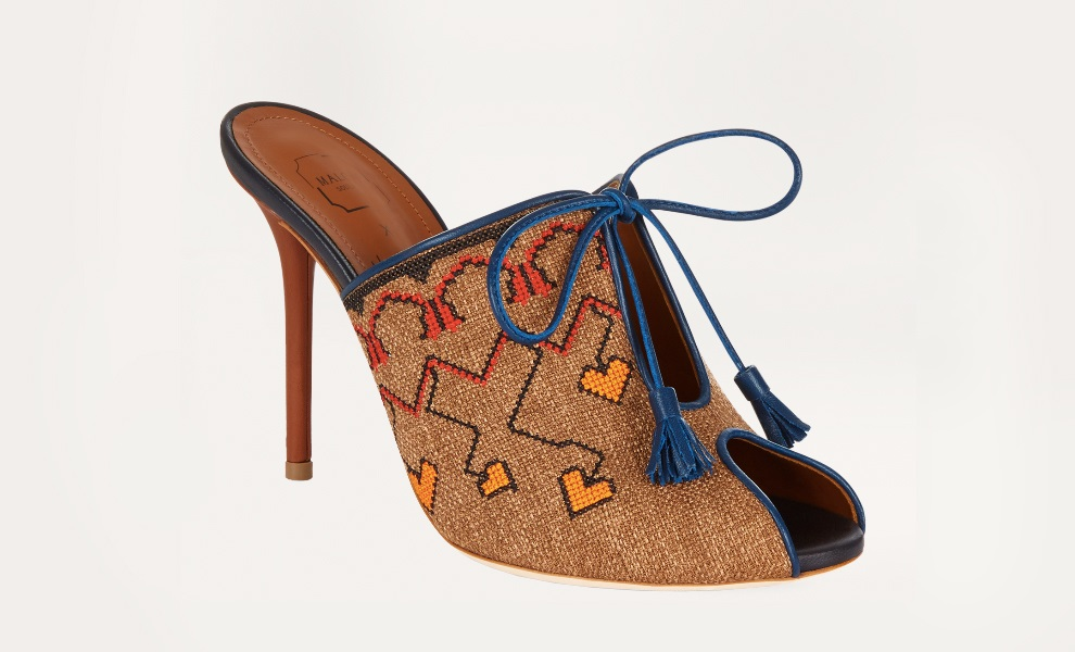 Shoes Malone Souliers x Natalya Vodianova presented at the fair in London