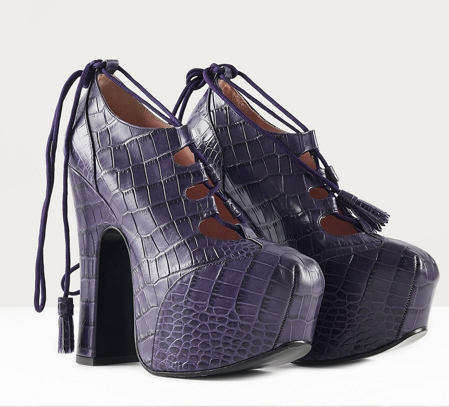 Vivienne Westwood re-releases iconic Super Elevated Ghillie shoes