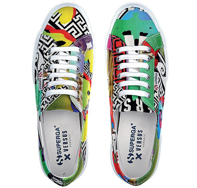 Superga and Versus Versace released a joint collection
