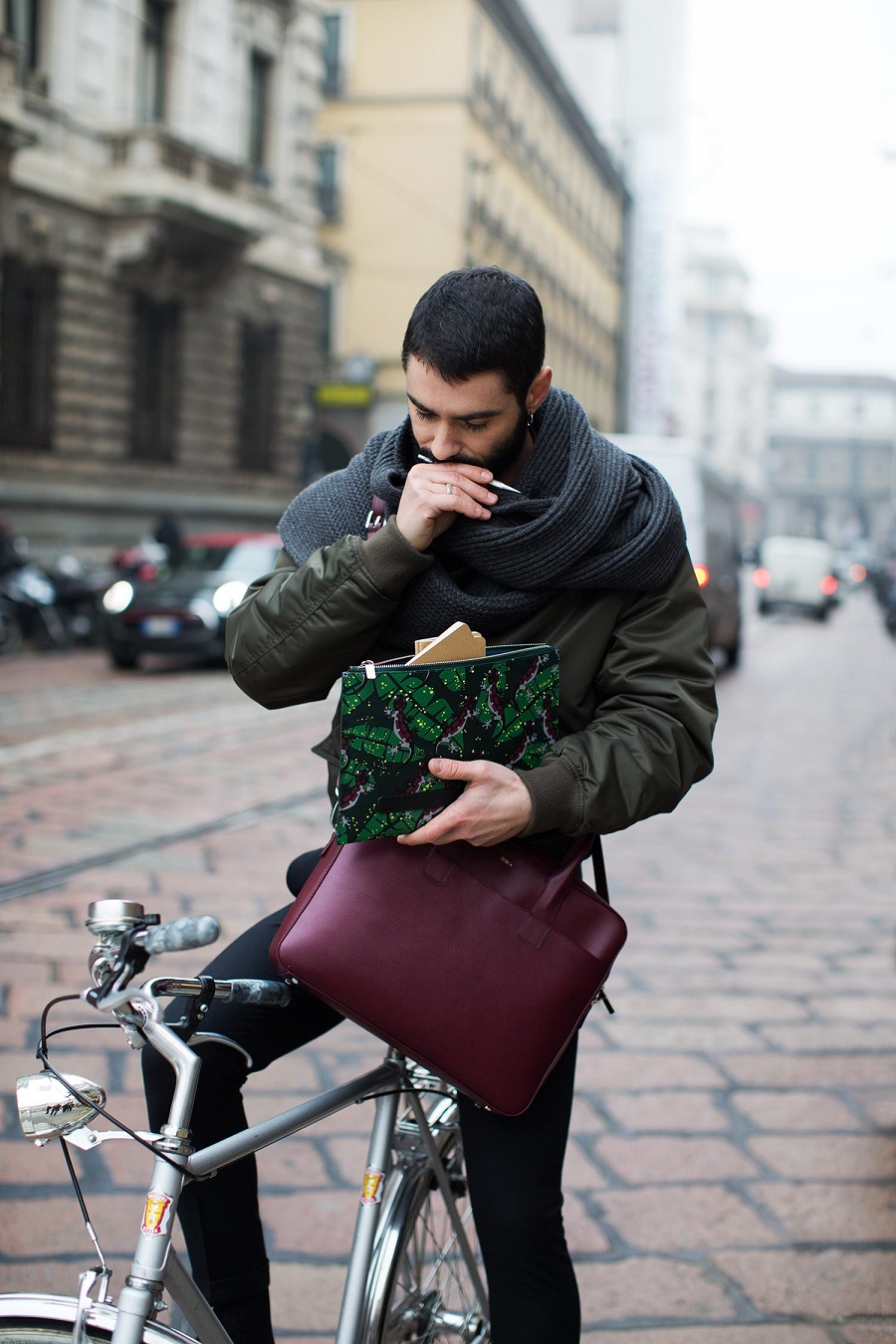 Furla brand unveils 2017 fall-winter collection at Pitti Uomo