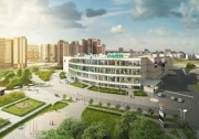 In Reutov, a shopping center is being built