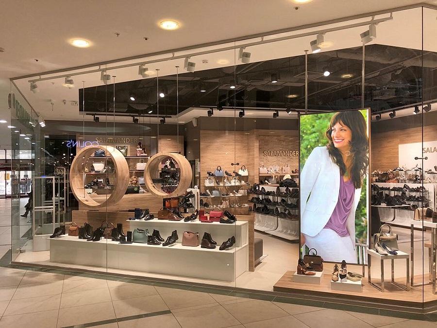 Salamander rebranded retail in Russia