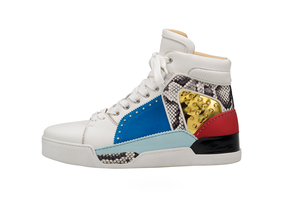 Christian Louboutin introduced a new model of men's shoes Loubikick