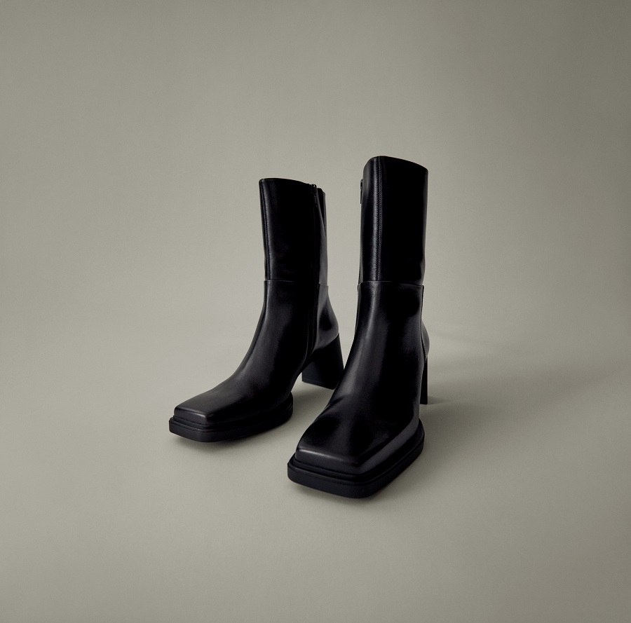 """Vagabond Shoemakers presents a new model of """"architectural"""" ankle boots"""