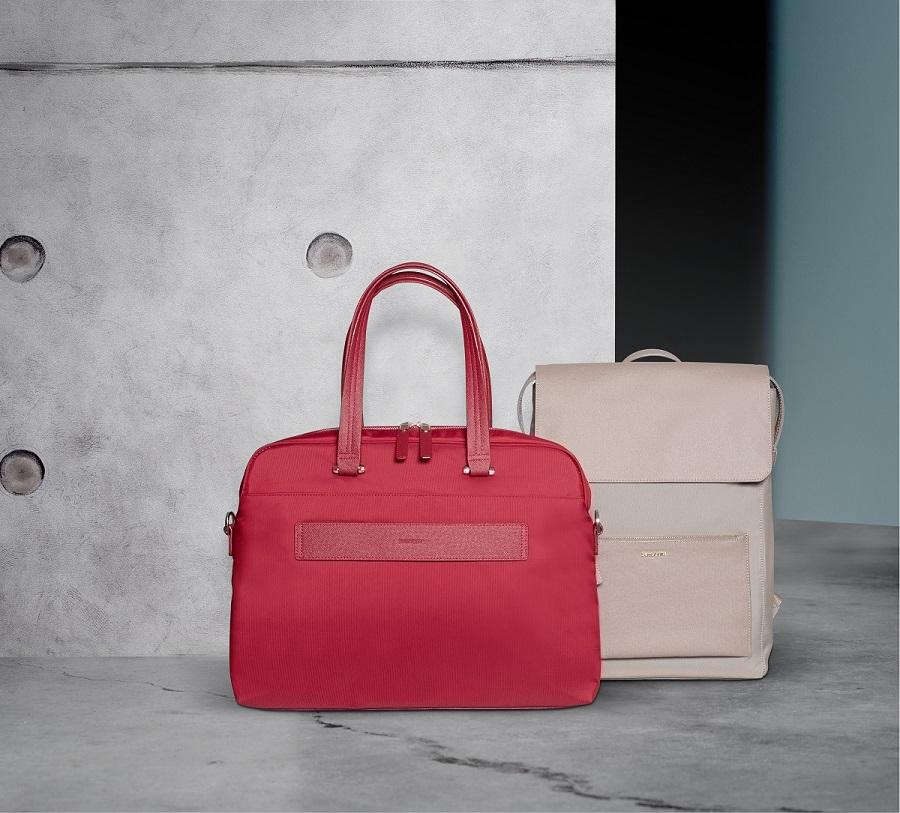 Samsonite introduced a new collection of business accessories for women