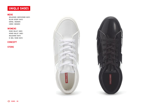 Uniqlo launches shoe line