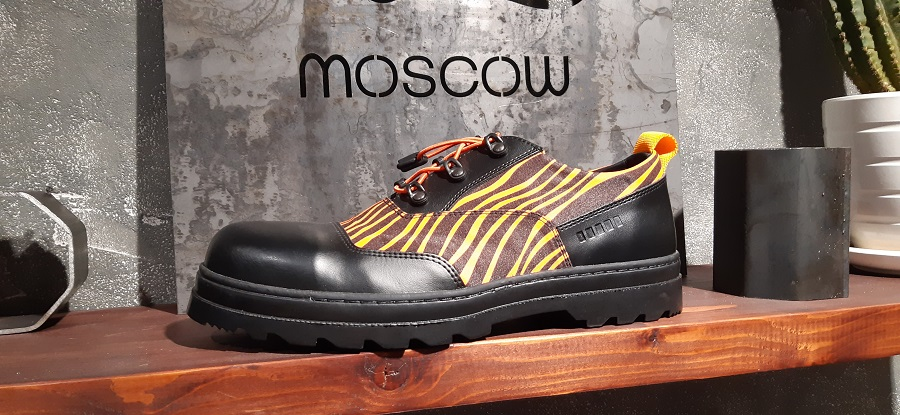 A presentation of the High Safety footwear and Leon Krayfish took place in Moscow