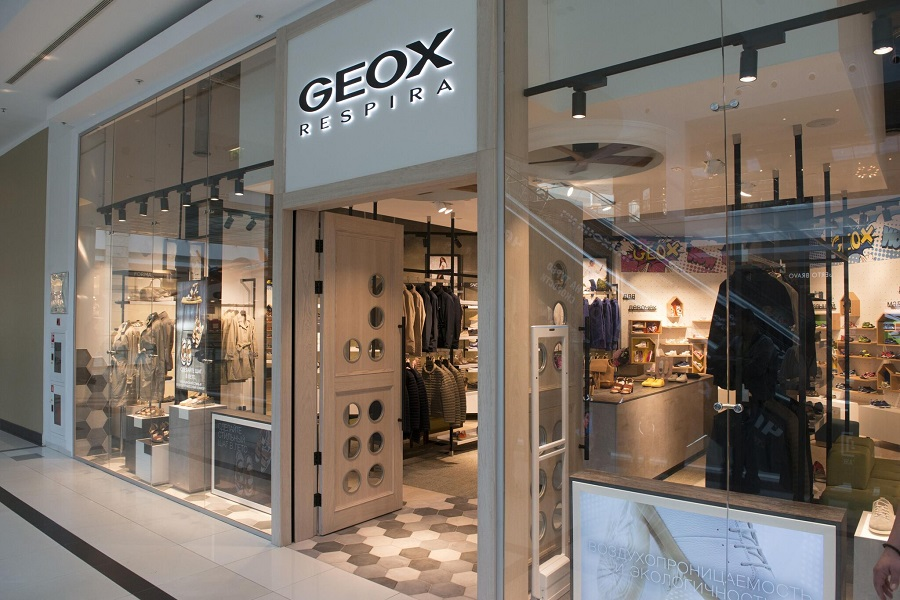 In Russia, will open another 16 stores Geox X-Store
