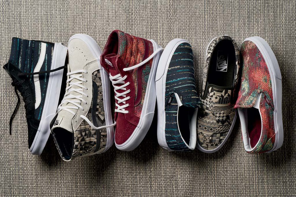 New Vans sneakers - from Italian textile