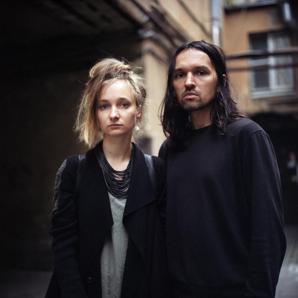 Gründer der Marke Sintezia Rita und Sasha Kutukov