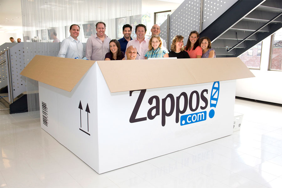 Zappos created a social network for hiring employees