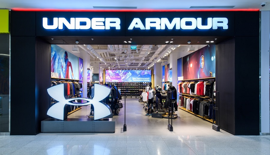 Under Armor opened its first store in Russia