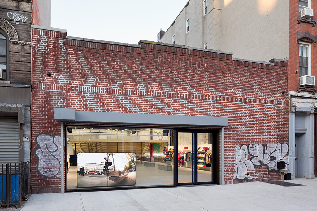 New Supreme store opens in New York