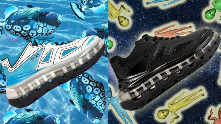 9b1c46ca Дизайнер популярных кроссовок Balenciaga Triple S запускает новую линейку  сникерсов