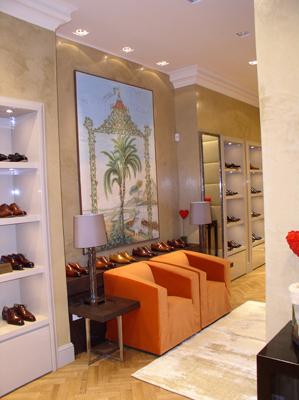 Shoe Store Santoni