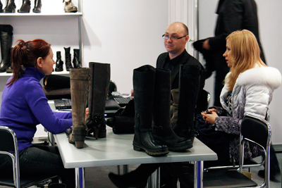 выставка обуви Еврошуз