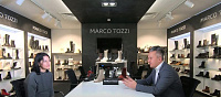 Shoes Report Youtube Channel: Interview with Sales Director Marco Tozzi, Eldar Schaffner