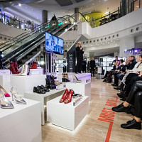 """Shoe marathon"" was held in TD Spring on Novy Arbat"