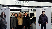 Топ-менеджмент головного офиса Geox посетил Euro Shoes Premiere Collection