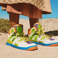 Gucci launches three sneakers with innovative Demetra material
