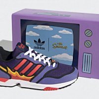 Adidas releases second collaboration with The Simpsons