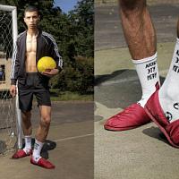 """St.Friday Socks hat eine ironische """"Fußball""""-Kollektion veröffentlicht"""