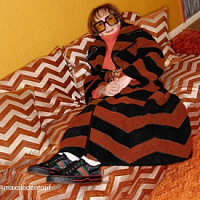 Gucci advertises 1977 tennis shoes in original photo shoot